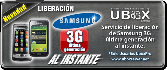 Samsung 3G En el ACTO!